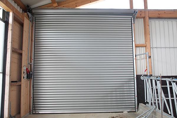 Berühmt Rolltore aus Stahl für Landwirtschaft - Stalltec - Stalltechnik &JS_15